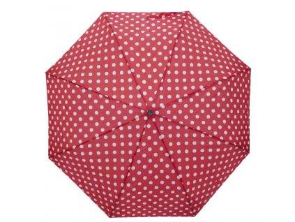Dámský deštník PRIMO - červený puntík