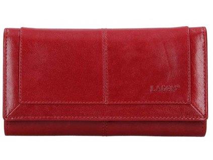 Luxusní kožená peněženka Lagen - červená