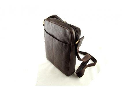 Pánská taška přes rameno Sendi Design - tmavě hnědá