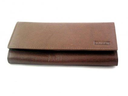 Klasická dámská peněženka Lagen - hnědá