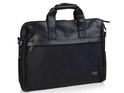 Praktická textilní taška Silvercase - černá