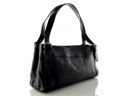 Černá menší kabelka - Silvercase