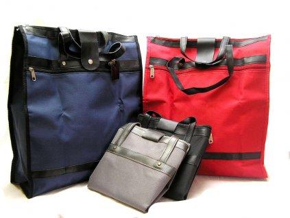 Pevná textilní taška - modrá