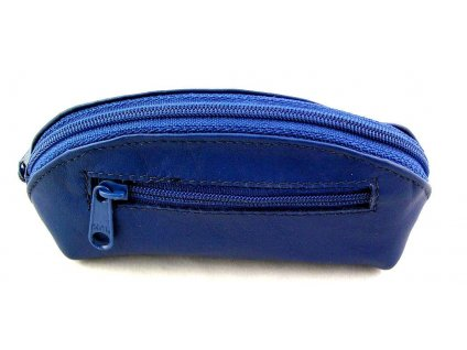 Kožená klíčenka Arwel - modrá