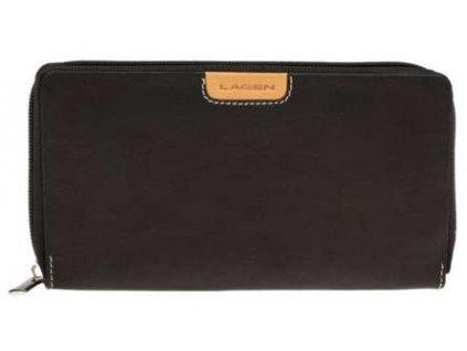 Dámská penálová peněženka Lagen - černá