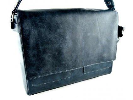 Klopnová taška přes remeno Silvercase - tmavě modrá