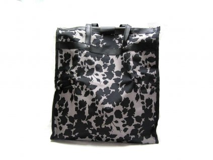 Pevná textilní taška - černá