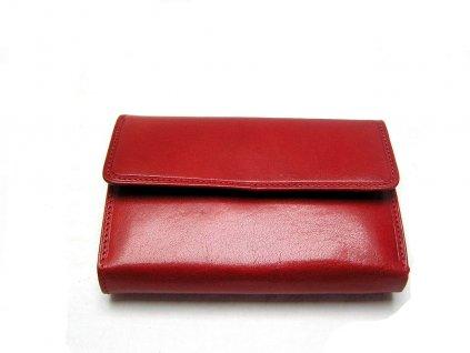 Klasická dámská peněženka - červená