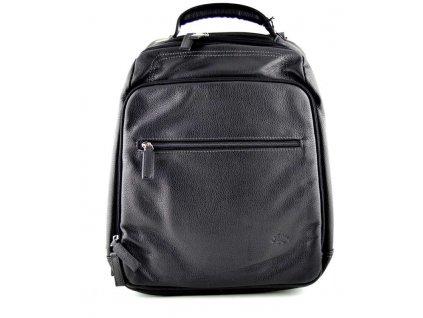 Kožený batoh Katana - černý