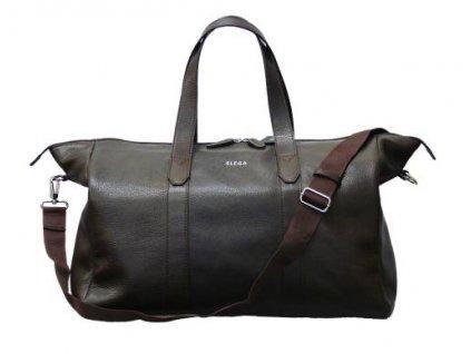 1 Cestovní taška Elega Tipsy hnědá 68845