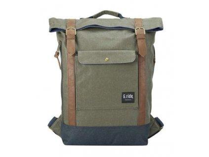 Textilní batoh  G.ride France - zelený