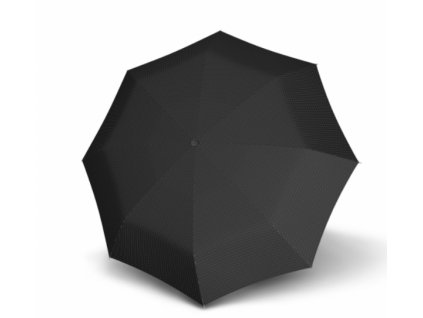 Pánský deštník Doppler mini fiber - černý kostka