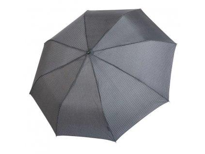Pánský deštník Doppler mini fiber - černý vzor