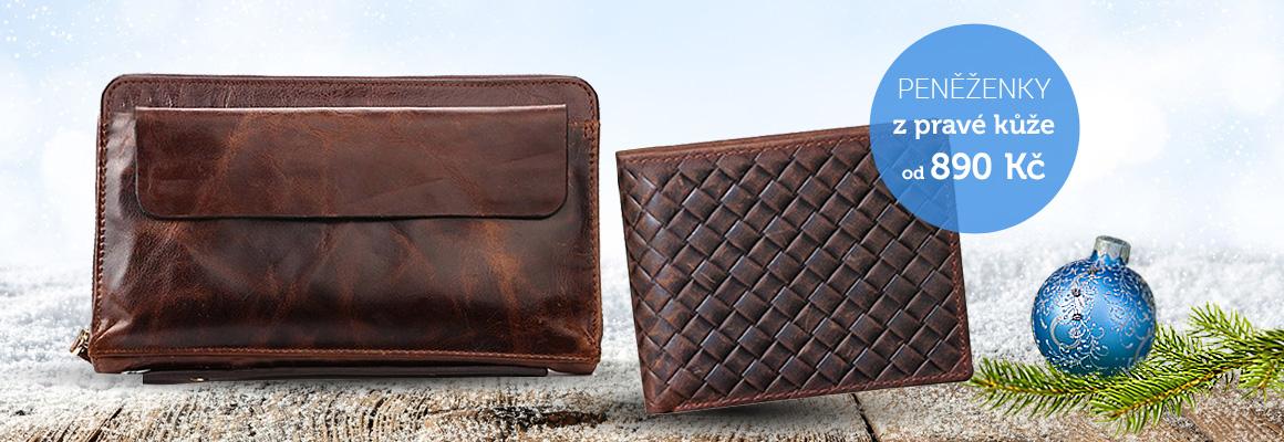 Pánská peněženka kožená