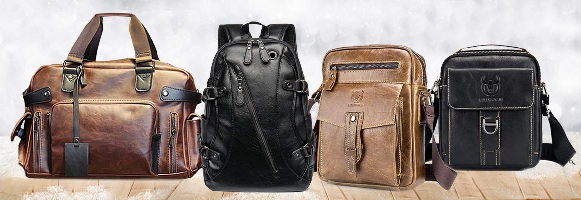 Pánské kožené tašky a brašny přes rameno