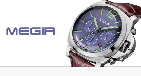 Pánské atraktivní hodinky Megir