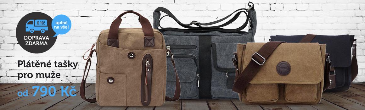 Pánské plátěné tašky