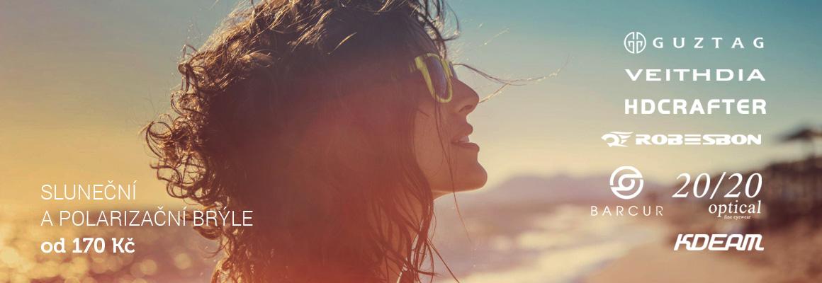 Sluneční a polarizační brýle