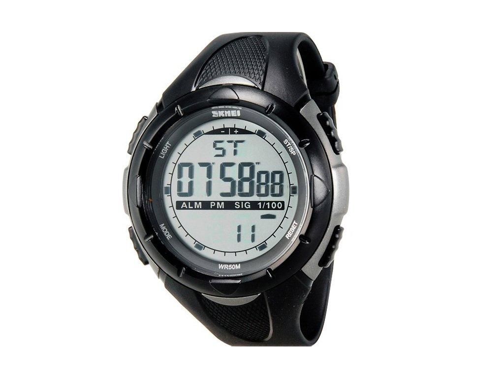 3cd58ce43 Sportovní hodinky Skmei odolné z PU - čas, kalendář, alarm, chronograf