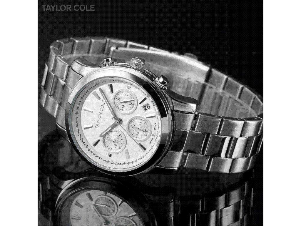 6673ca7ff Atraktivní dámské hodinky Taylor Cole Muse s datumem a chronografem ...
