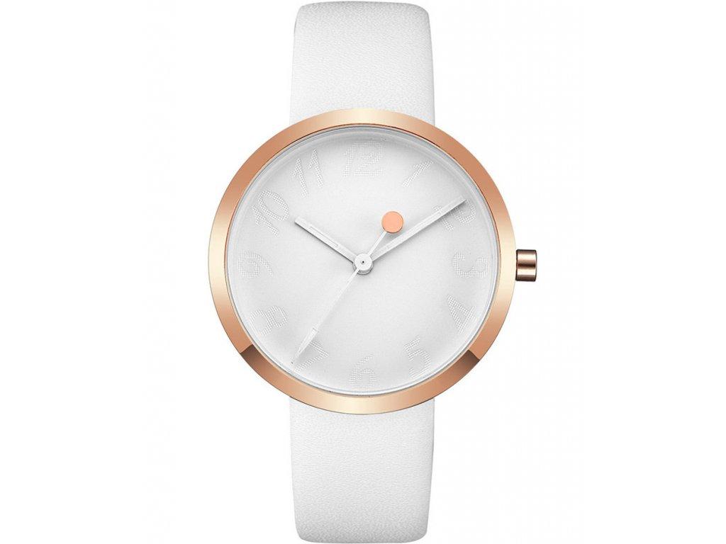 Atraktivní dámské hodinky zn CRRJU - bílé - Elegans.cz 089f204c397