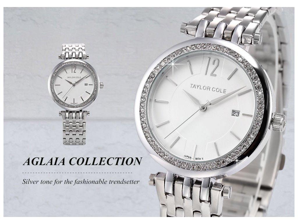 f878f7fb3 ... Atraktivní dámské hodinky Taylor Cole Aglaia - zlaté