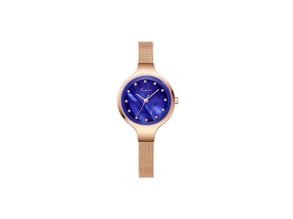 Atraktivní dámské hodinky zn. Kimio - zlaté - Elegans.cz 12649e472e