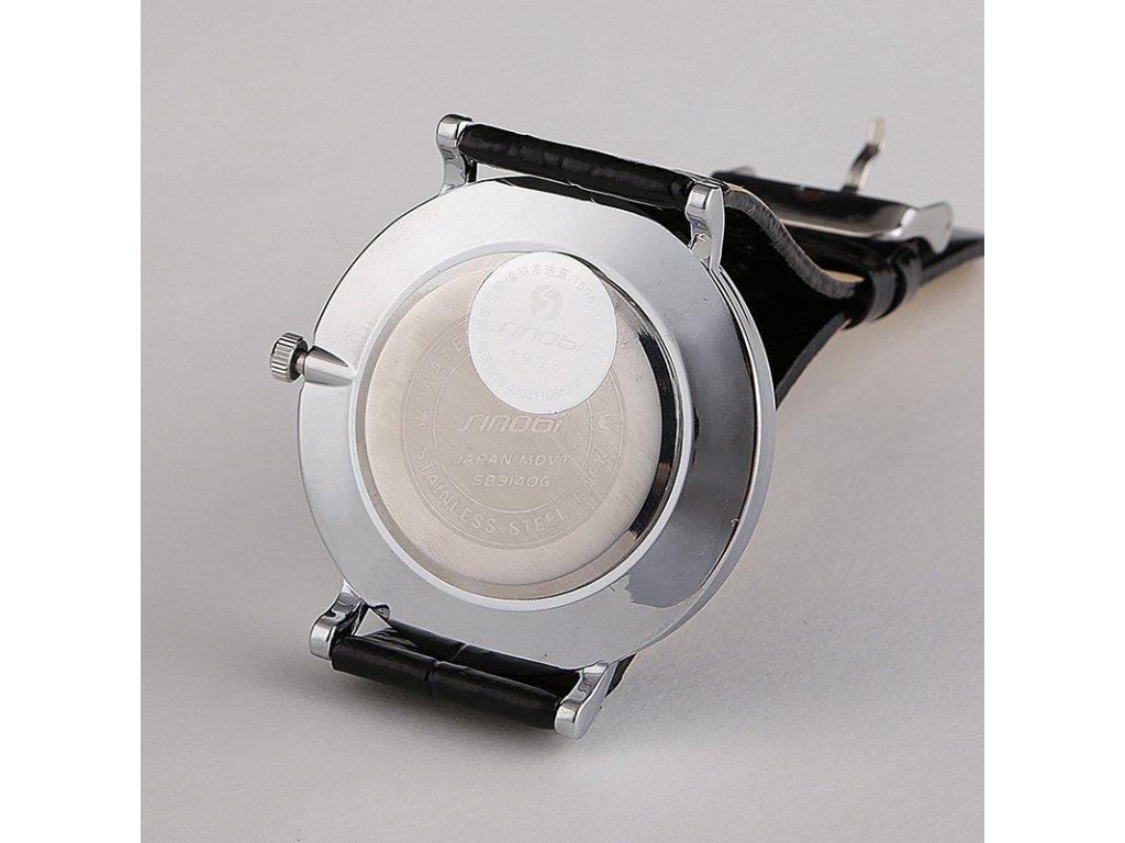 Módní hodinky Sinobi ultra tenké - bílé - Elegans.cz 163ee61f1ef