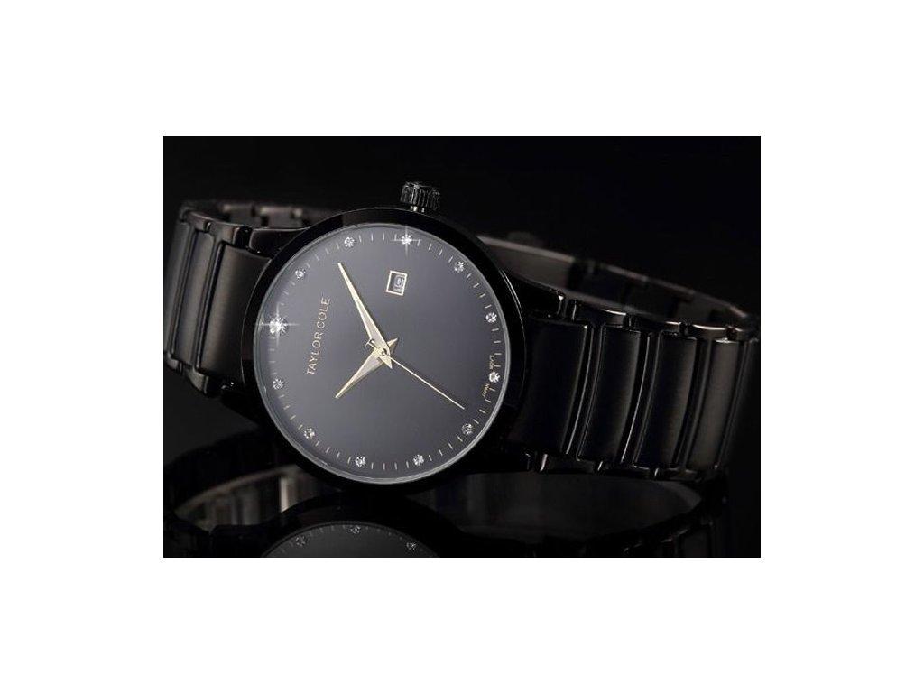d01d8752c8f Atraktivní dámské hodinky Taylor Cole Echo s datumem - černé ...