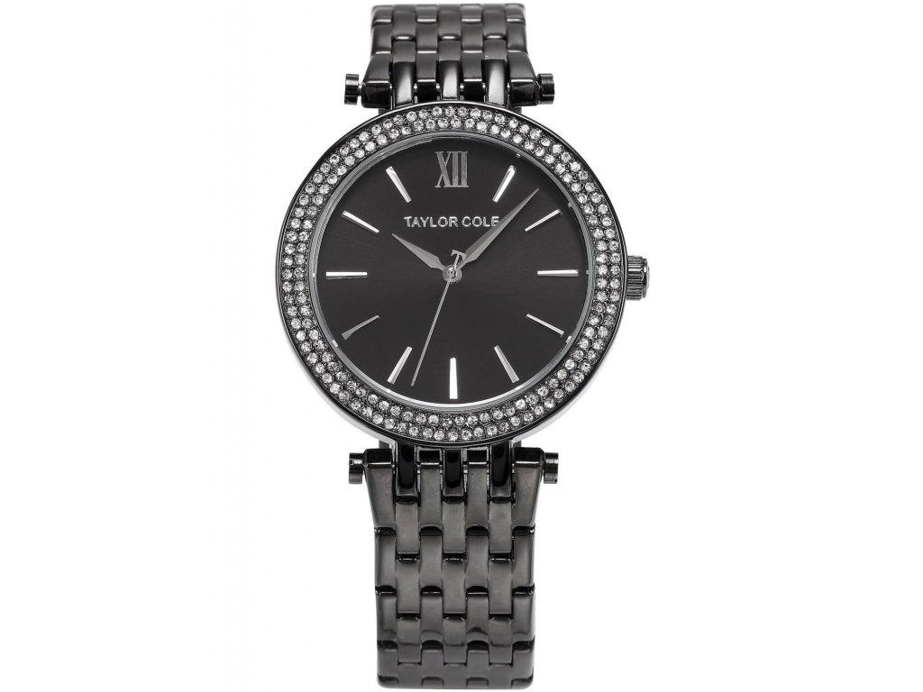 966dd4a81 Atraktivní dámské hodinky Taylor Cole Aglaia - černé - Elegans.cz