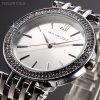 Atraktivní dámské hodinky Taylor Cole Aglaia - stříbrné