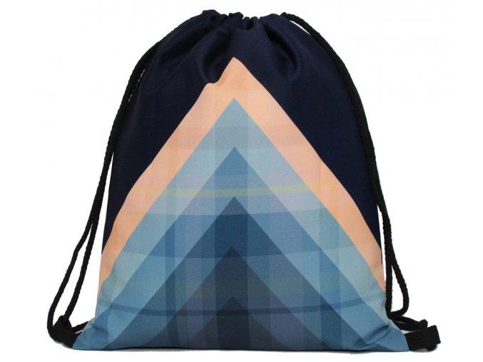 Praktický vak / batoh - triangel