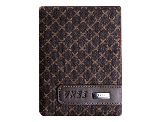 Unisex peněženka Ykss krátká - tmavá