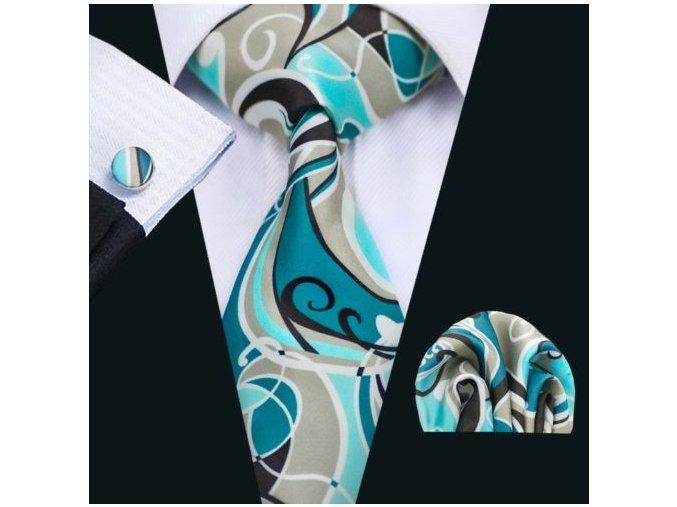 kravata barevna
