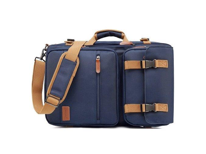 velka panska modra taska cestovni notebook batoh 17 palcu