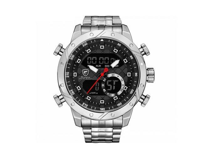stribrne shrark hodinky