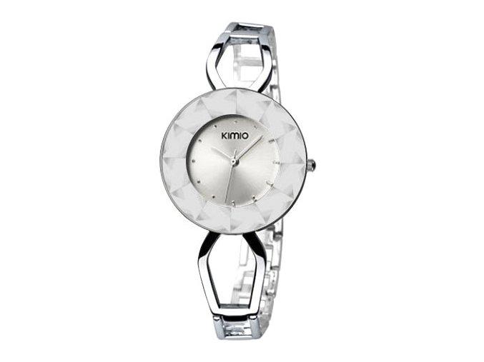 Elegantní dámské hodinky Kimio Spark I. - stříbrné