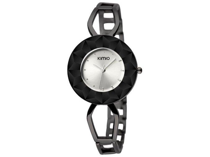 Elegantní dámské hodinky Kimio Spark II. - černé