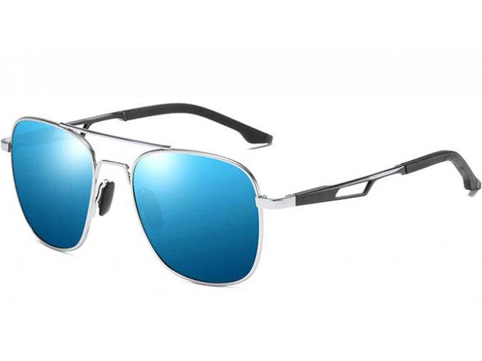 slunecni bryle modre zrcadlove polarizacni