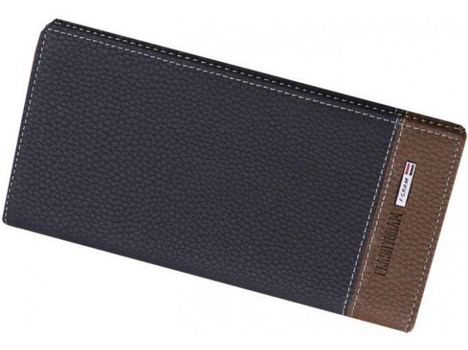 Pánská peněženka Flashygram dlouhá modro-hnědá