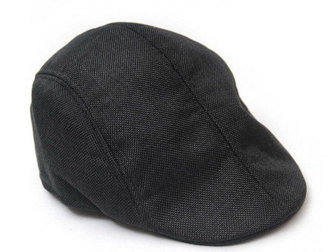 Pánská / dámská lehká čepice bekovka - černá