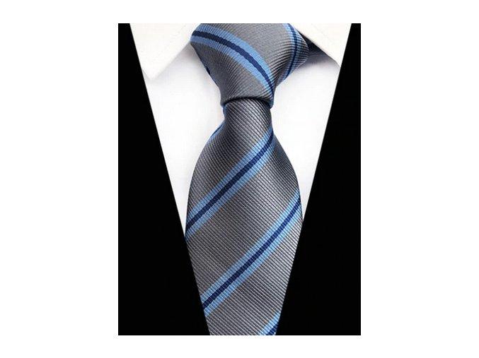 seda modra kravata