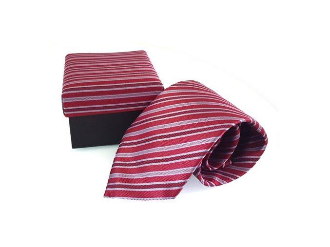cervena kravata