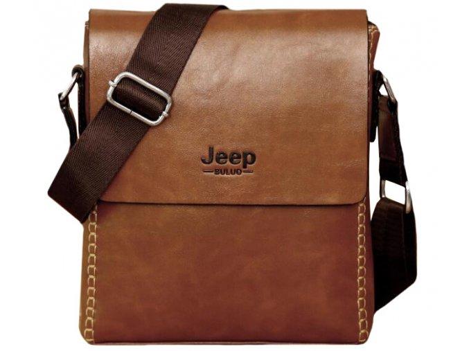 jeep taska brasna kozena hneda panska crossbody