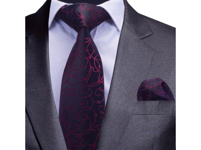 kravatovy set vinovy