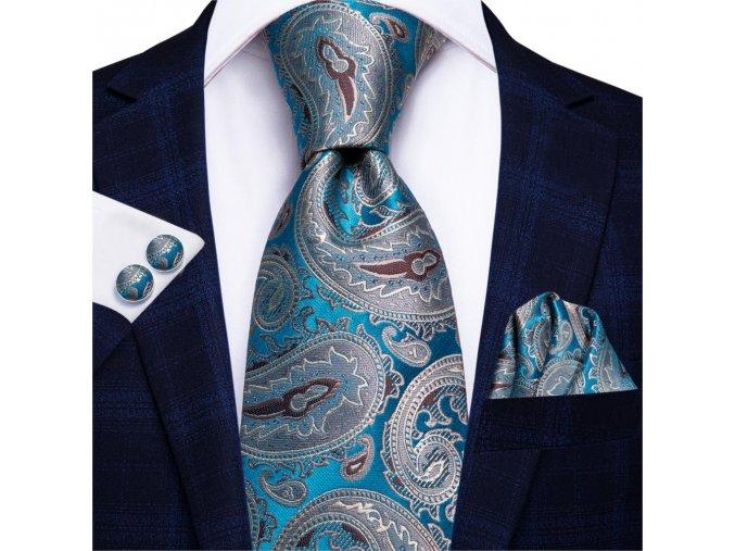 panska hedvabna kravata elegantni
