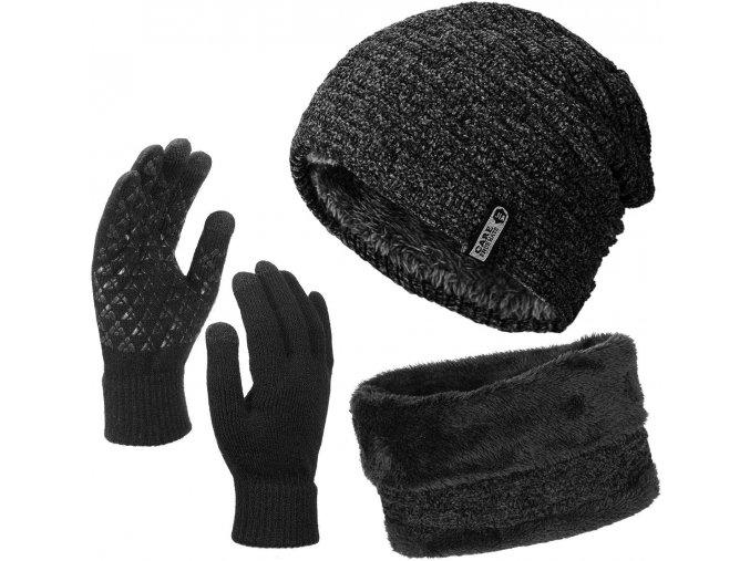 cepice sala rukavice set zimni