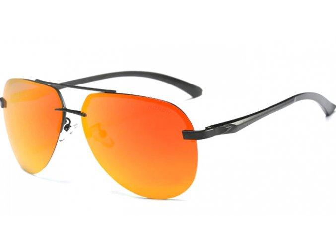 slunecni kvalitni bryle oranzove