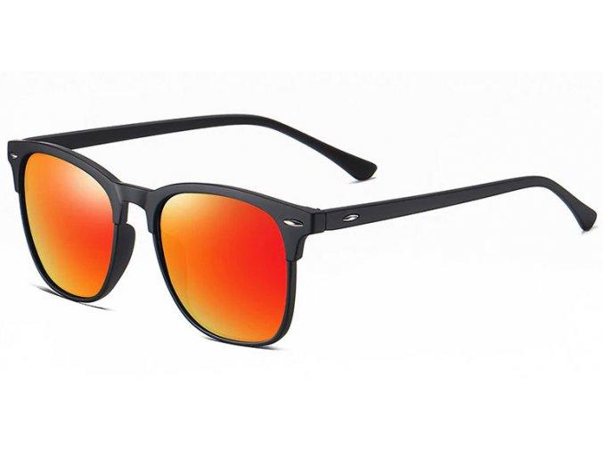 zrcadlove bryle oranzove polarizacni slunecni