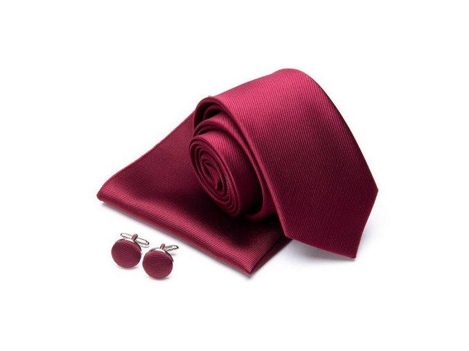 vinovy kravatovy set
